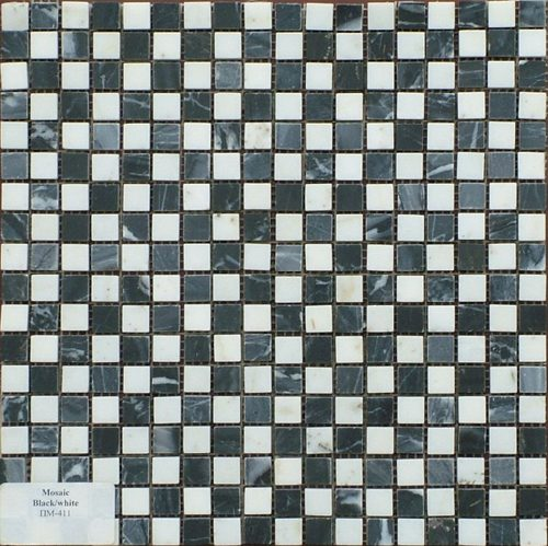 Фото mosaic-black-white