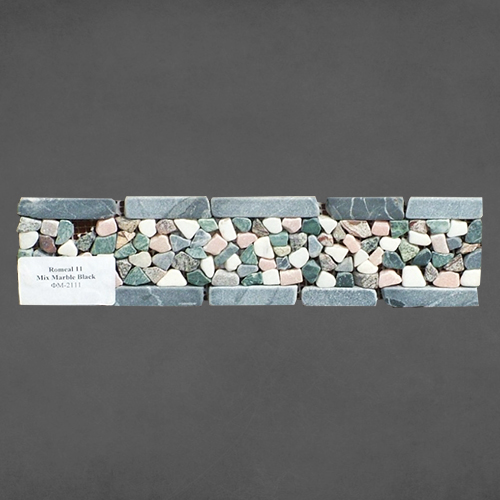 Фото romeal-11-mix-marble-black